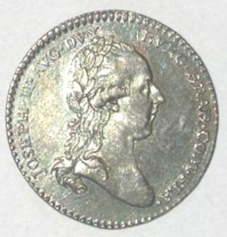 Inhuldigingspenning van Joseph II, 1781