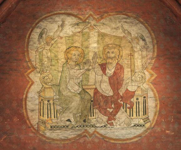 Zegening van Maria, Laatste Avondmaal, Sint-Jan de Doper, Sint-Christoffel