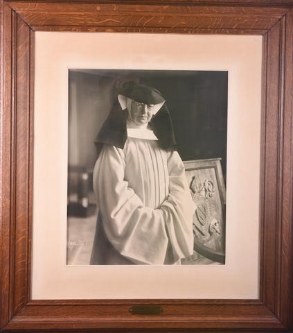 Portret van Eerwaarde Moeder Seraphine