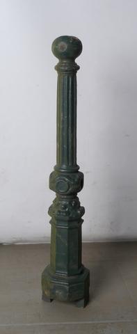 Baluster voor de afsluiting van de waterlopen in Gent, model 1860