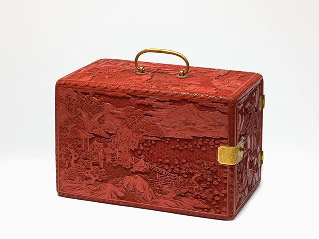 Koffertje voor het bewaren van boeken