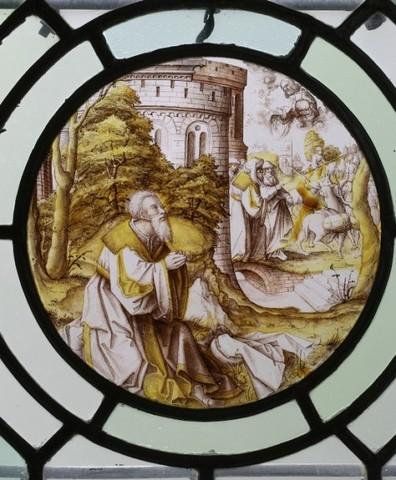 De geschiedenis van Abraham: Abraham bidt voor de genezing van Abimelech en de Godslastering van Batseba