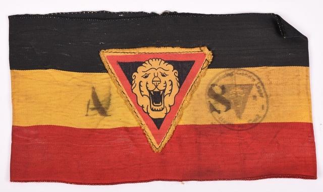 Armband Duits Leger Met Hakenkruis Stam
