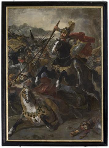 Achilles overwint Telephos