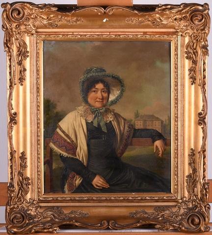 Portret van mevrouw de Ghellinck de Walle