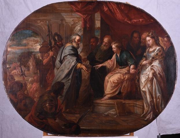 Susanna door de grijsaards beschuldigd