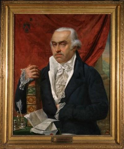 Portret van graaf J. B. d'Hane de Steenhuyse