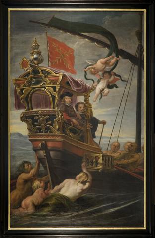 Kardinaal-Infant Ferdinand vaart naar Italië