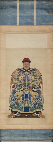 Portret van een ambtenaar