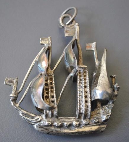 Insigne van het ambacht van de vrije schipper Gent