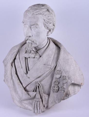 Portret van Floribert Soupart (1810-1901)