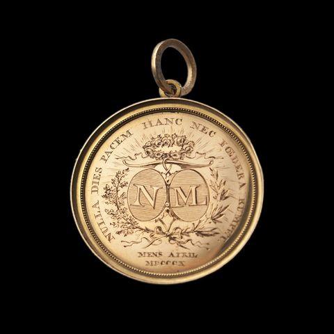Gedenkpenning voor de viering te Gent van het huwelijk van Napoleon I met Marie-Louise, 1810