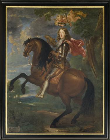 Portret van karel II van Spanje