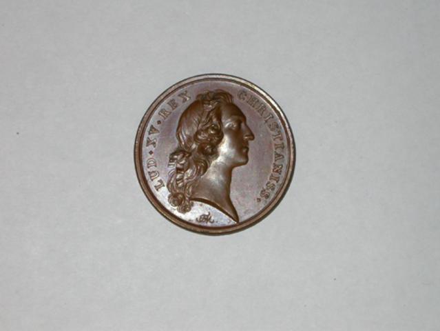 Gedenkpenning voor de inname van Ieper door Lodewijk XV, 1744