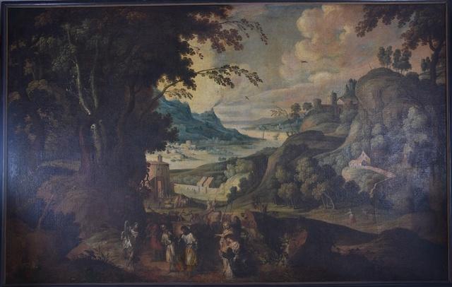 David brengt de Ark des Verbonds terug