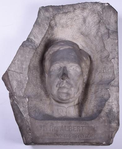 Portret van koning Albert I