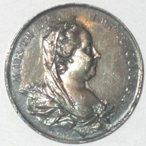 Rekenpenning voor het Brugse Vrije onder Maria Theresia, (1777-1780)