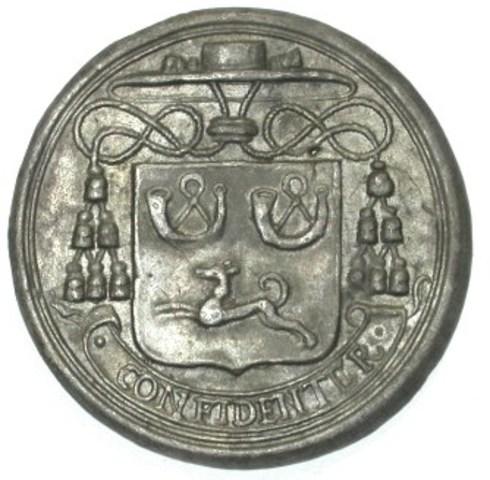 Begrafenispenning van Antoon Triest, 7de bisschop van Gent, 1657