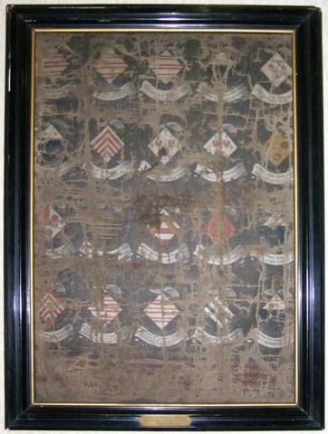 Wapenschilden van de eerste twintig abdissen