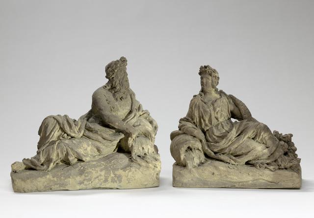 Vier allegorische figuren