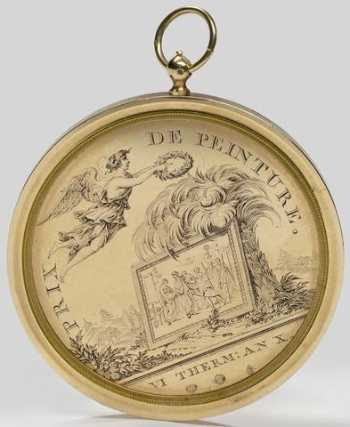 Prijspenning schilderkunst Academie Gent aan C. Cels, 1802