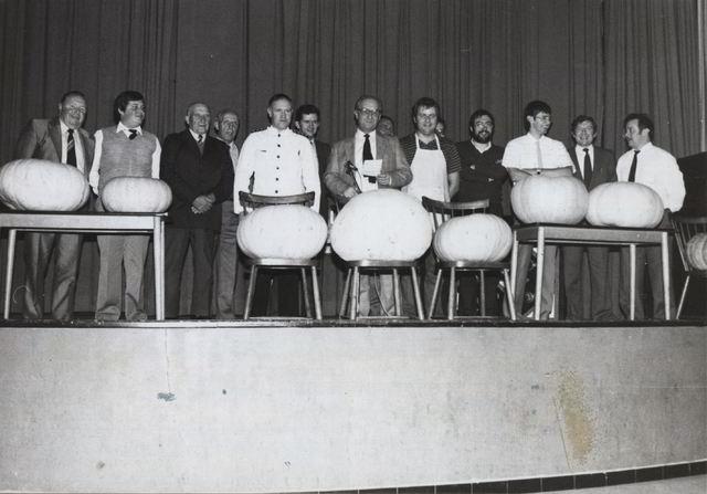Eine. Pompoenenwedstrijd. 1983