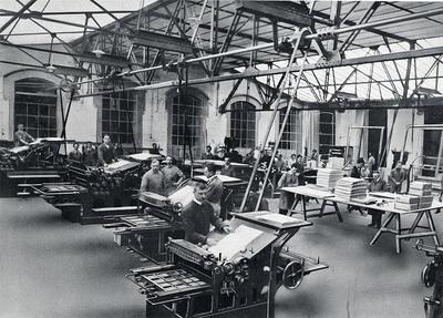 Drie eeuwen grafische industrie