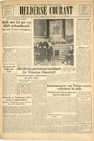 Heldersche Courant 1954-12-01