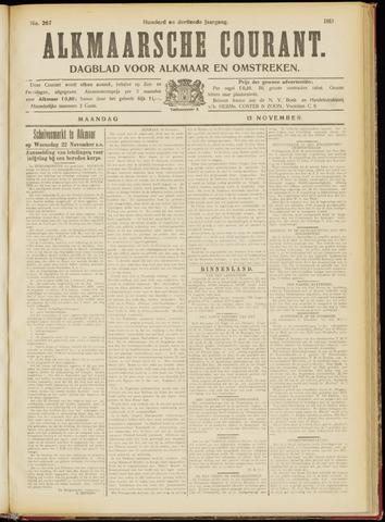 Alkmaarsche Courant 1911-11-13