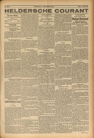 Heldersche Courant 1924-09-04