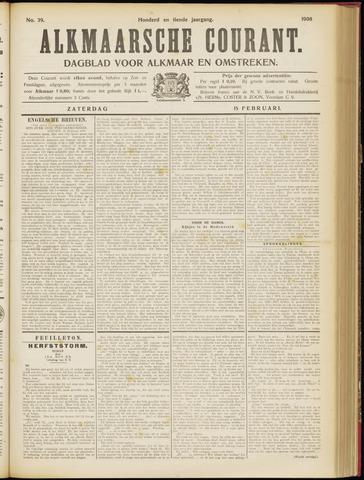 Alkmaarsche Courant 1908-02-15