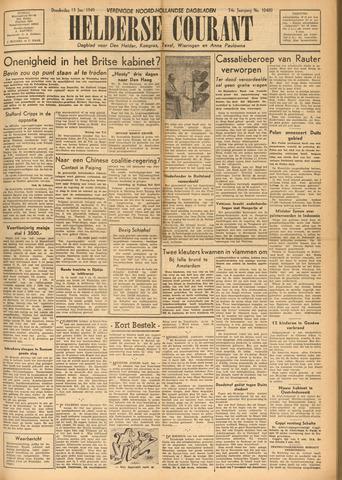 Heldersche Courant 1949-01-13