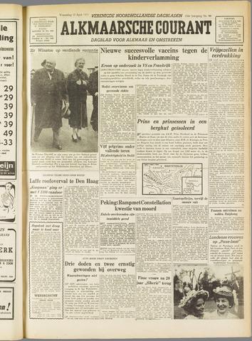 Alkmaarsche Courant 1955-04-13