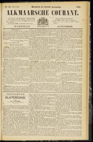 Alkmaarsche Courant 1900-11-28