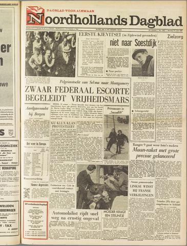 Noordhollands Dagblad : dagblad voor Alkmaar en omgeving 1965-03-22
