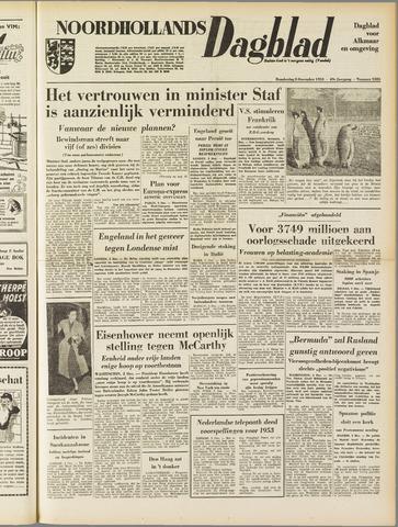 Noordhollands Dagblad : dagblad voor Alkmaar en omgeving 1953-12-03