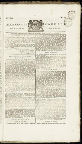 Alkmaarsche Courant 1839-07-08