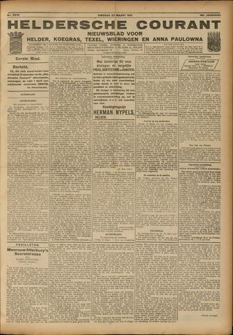 Heldersche Courant 1921-03-22