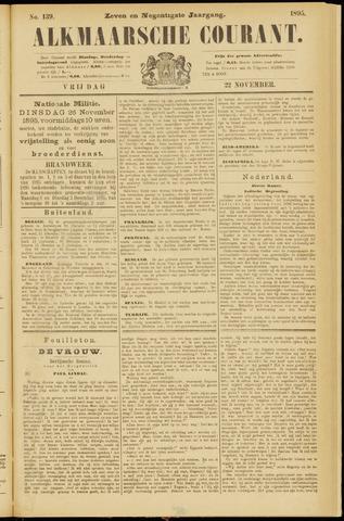 Alkmaarsche Courant 1895-11-22
