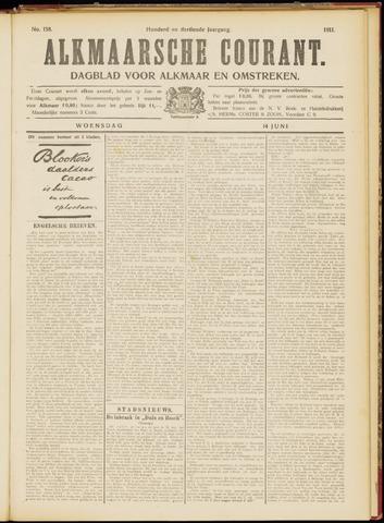Alkmaarsche Courant 1911-06-14