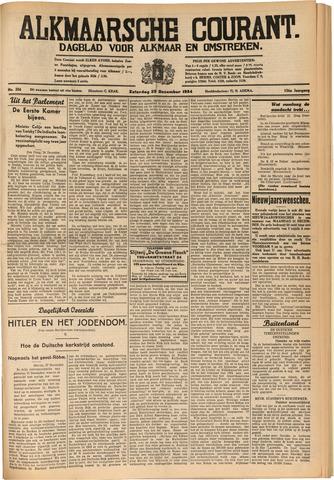 Alkmaarsche Courant 1934-12-29