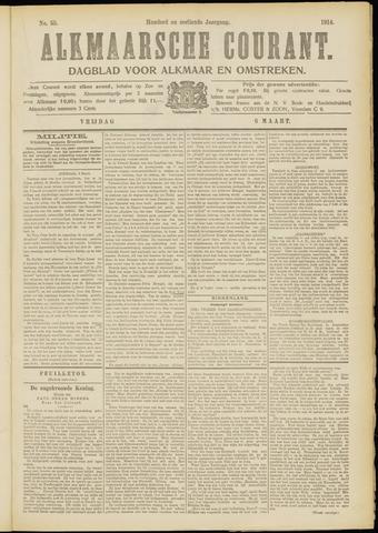 Alkmaarsche Courant 1914-03-06