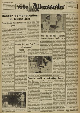 De Vrije Alkmaarder 1947-03-29