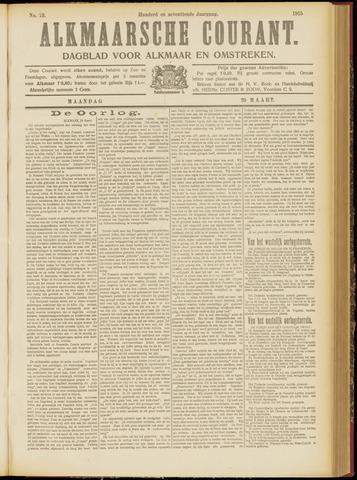 Alkmaarsche Courant 1915-03-29