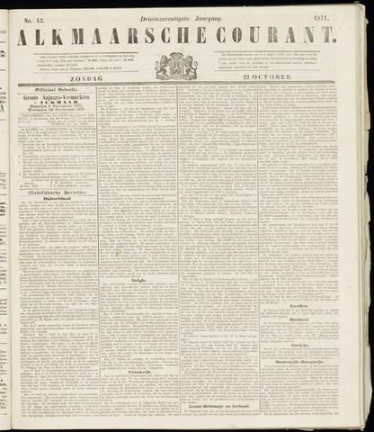 Alkmaarsche Courant 1871-10-22