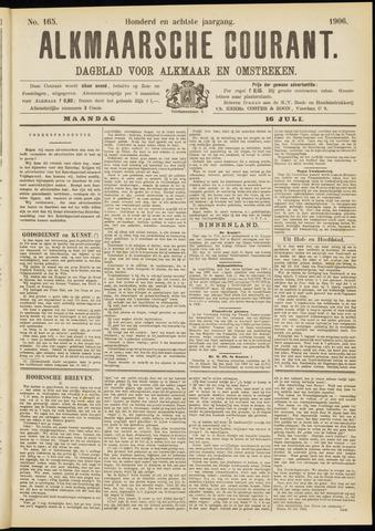 Alkmaarsche Courant 1906-07-16