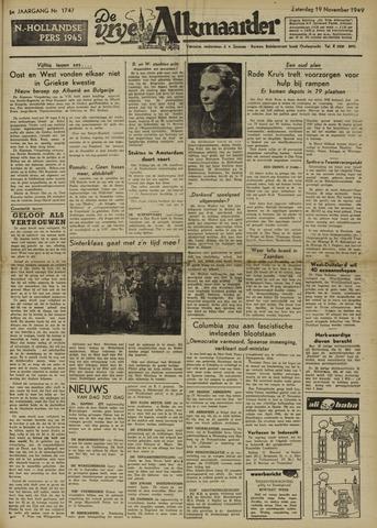 De Vrije Alkmaarder 1949-11-19