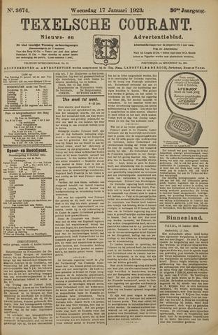 Texelsche Courant 1923-01-17