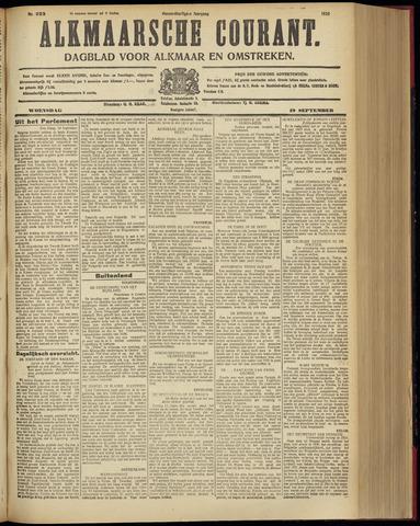 Alkmaarsche Courant 1928-09-19
