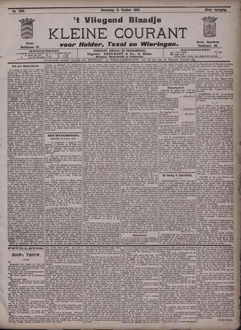 Vliegend blaadje : nieuws- en advertentiebode voor Den Helder 1900-10-31